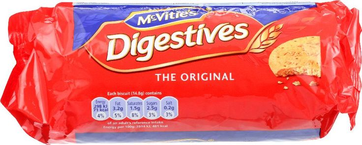 MCVITIES: Digestives Biscuits The Original, 8.8 oz