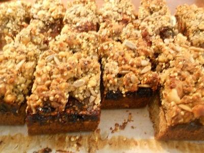 Incredible granola bar recipe from Boston's Flour Bakery + Cafe via Cheap Beets blog.