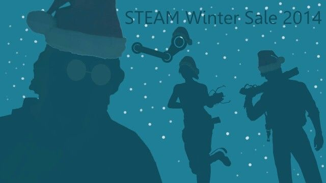 Steam winter sale poster