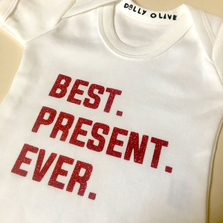 Best Present Ever Vest, best gift ever, Christmas baby, Christmas baby shower, baby gift, Christmas baby outfit, baby's 1st Christmas, my 1st Christmas outfit
