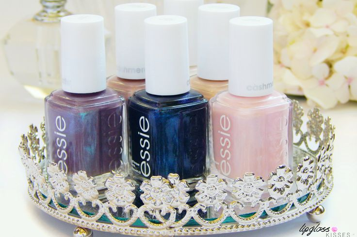 Essie Cashmere Matte Collection - www.lipglosskisses.com