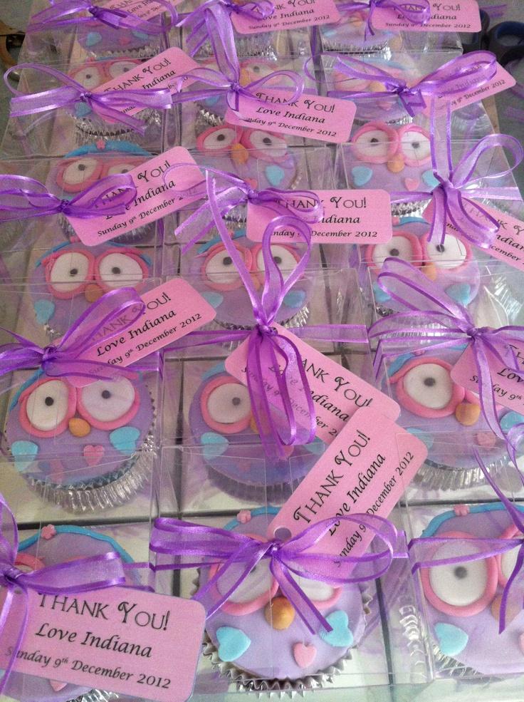 Hootabelle cupcake boxes