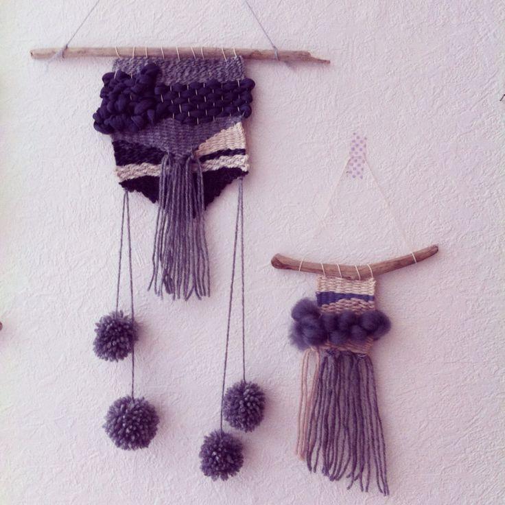 Fifty shades of grey wall hanging