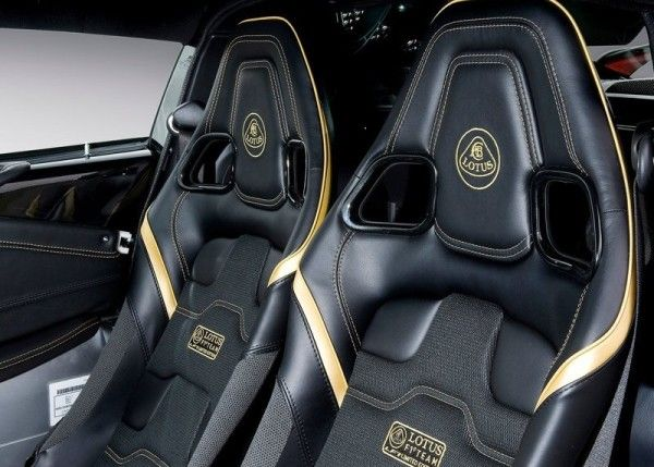 2014 Lotus Exige LF1 luxury seat interior