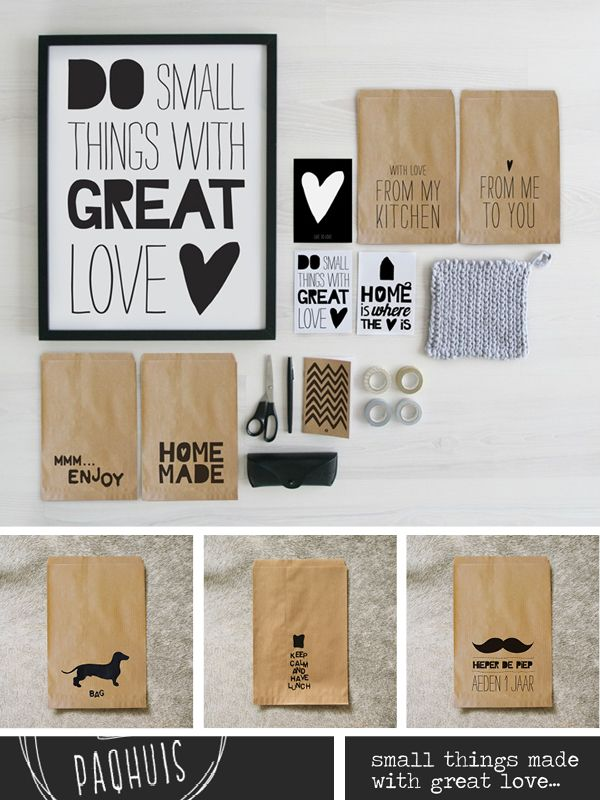 """""""do small things wiht great love"""" / Graphic Design Typography Branding Identity Corporate Business Cards Print"""