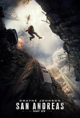 San Andreas is an upcoming 2015 American action-adventure disaster film directed by Brad Peyton and written by Allan Loeb, Carlton Cuse, Carey Hayes and Chad Hayes, based on the original script by Jeremy Passmore and Andre Fabrizio. The film stars Dwayne Johnson, Kylie Minogue, Carla Gugino, Alexandra Daddario, and Paul Giamatti.  The film will be released worldwide in 2D and 3D on May 29, 2015.