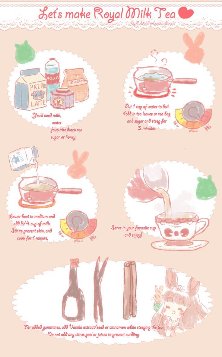 Let's make Royal Milk Tea by puddinprincess.deviantart.com on @deviantART