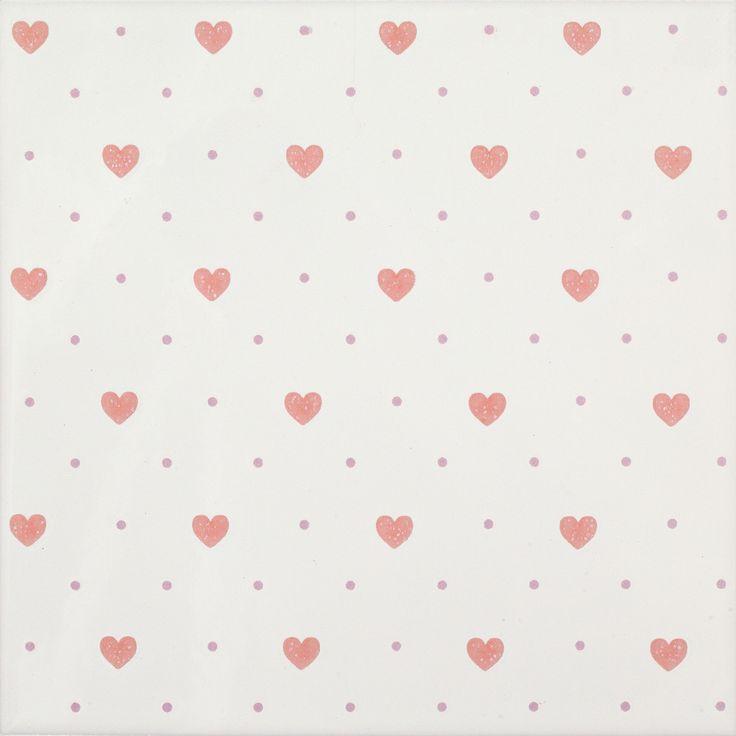 #Dado #Love Rosa 20x20 cm 302509 | #Feinsteinzeug #Dekore #20x20 | im Angebot auf #bad39.de 20 Euro/qm | #Fliesen #Keramik #Boden #Badezimmer #Küche #Outdoor