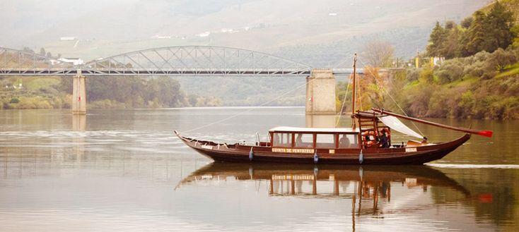 Barco rabelo no rio Douro. Portugal | Roteiro de viagem