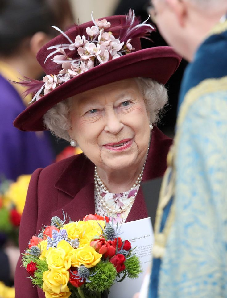 March 12, 2018 Queen Elizabeth II attends from the 2018 Commonwealth Day service at Westminster Abbey in London, England
