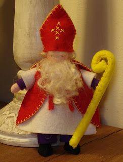 Poppenatelier Barbara: Sinterklaas