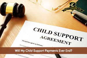 Under what conditions does child support legally end? If you need help with a child support issue, please contact our law office.