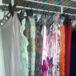 Organizing Scarves Doesn't Need to be a Pain in the Neck | Rubbermaid Adventures in Organization