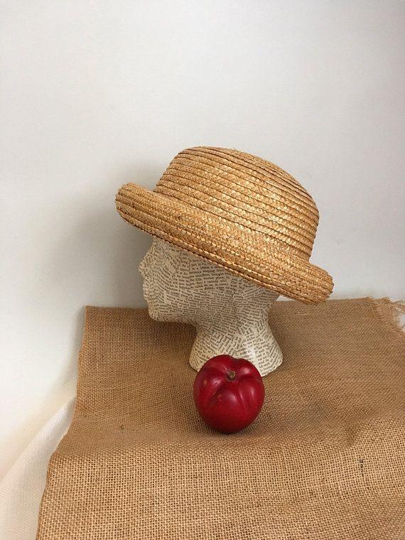Women s Straw Bowler Hat f1e92b71b1f