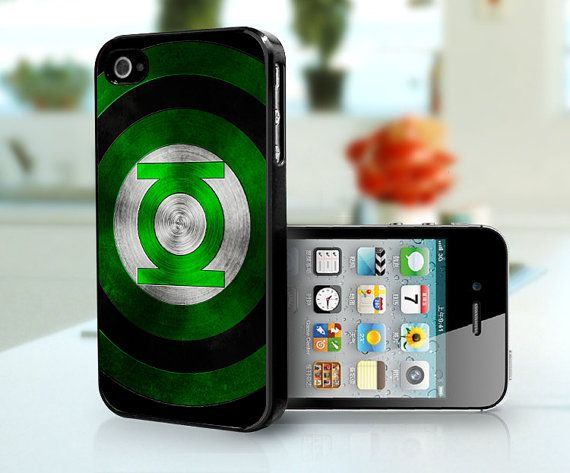 Green Lantern 2 - iPhone 4, iPhone 4s or iPhone 5 on Etsy, $15.99