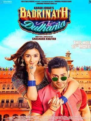 Badrinath Ki Dulhania 2017 Hindi Movie 700MB DVDScr Download Free