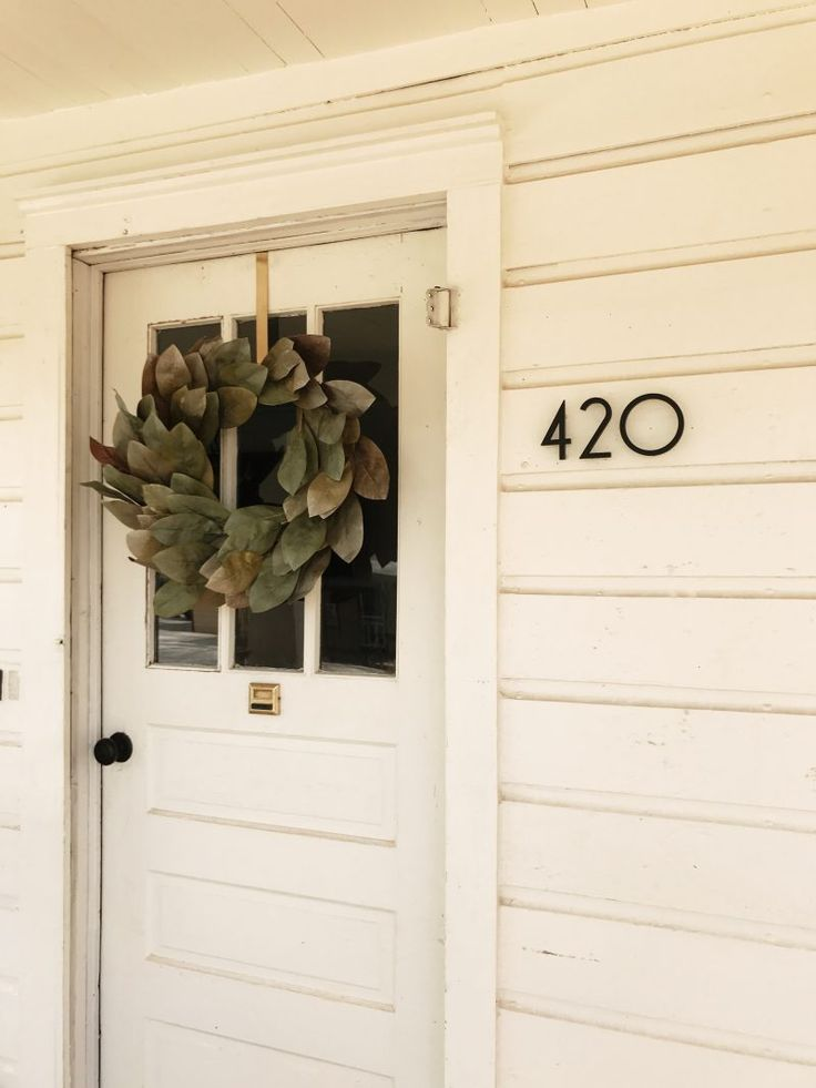 127 best modern house numbers images on Pinterest House