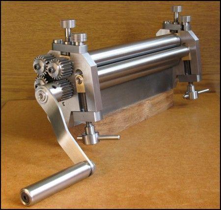 Workshop Bending Rolls