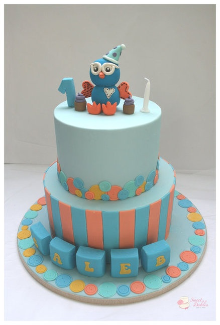 Its all about hoot! Cake by Trishie