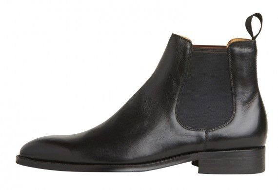 Windsor Smith - Stockman Black Leather Boot