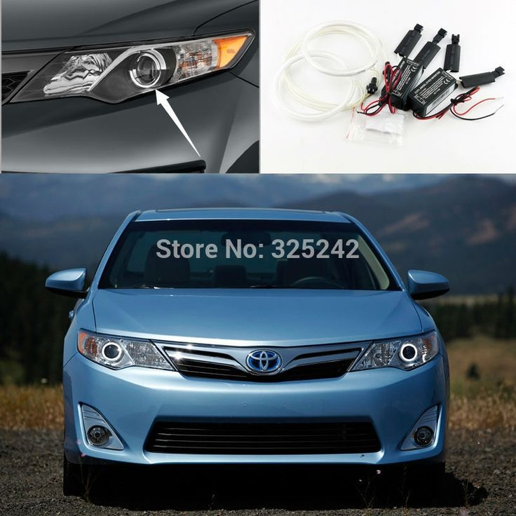28.00$  Buy here - http://aizw6.worlditems.win/all/product.php?id=32270346070 - For Toyota Camry 2012 2013 2014 SE Daihatsu Altis Excellent angel eyes Ultra bright illumination CCFL Angel Eyes kit Halo Ring