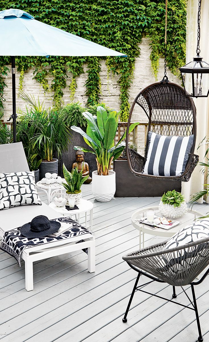 High Low Backyard Oasis In 2020 Patio Decorating Ideas