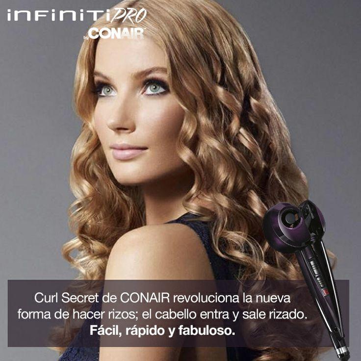 #curlsecret #CONAIRMX #productosconair #rizos #facil #rapido #fabuloso #peinado