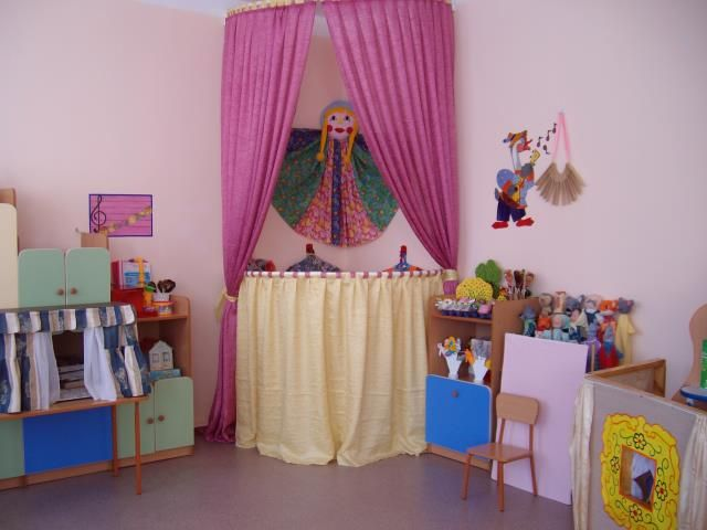 Театральные уголки в детском саду своими руками