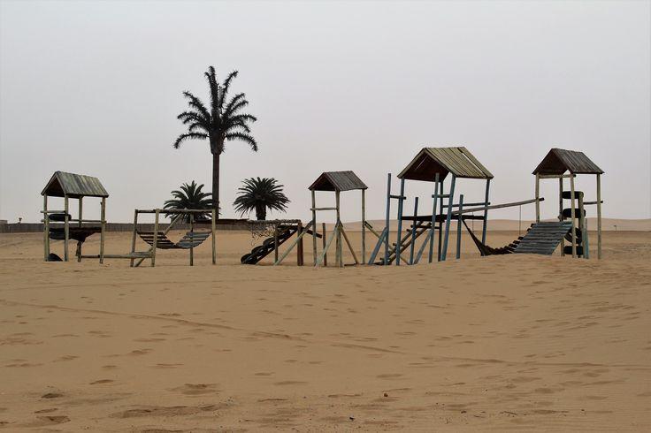 Play park in the Namibia Desert