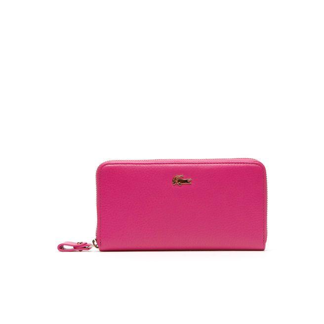 Lacoste £100 Daily Cuir zip wallet