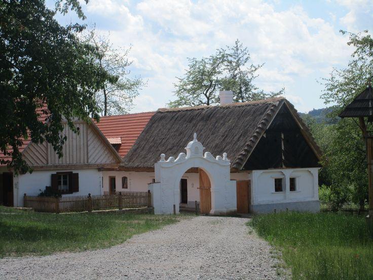 Chaloupky ve skanzenu - Kouřim - Středočeský kraj