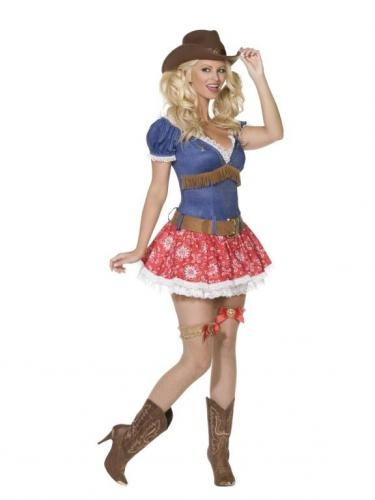 Fever Boutique Wild West costume.  Disfraz de Vaquera adulto