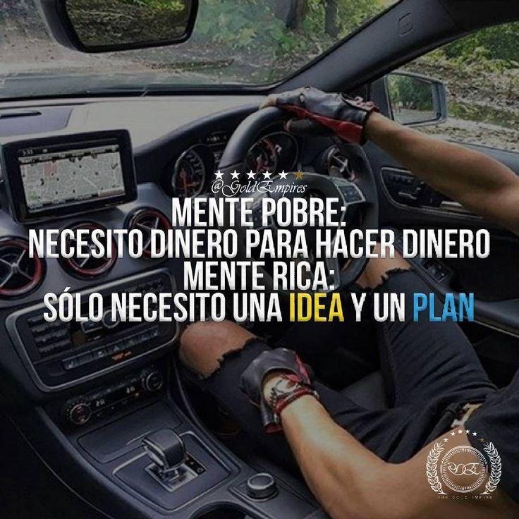 Tu eres el único que decide como pensar. Recuerda que la falta de dinero es temporal. Monetiza las ideas que tienes. NUNCA TE DETENGAS