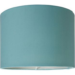 Buy ColourMatch Fabric Shade - Jellybean Blue at Argos.co.uk - Your Online Shop for Lamp shades.