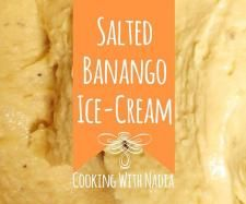 Salted Banango Ice-Cream | Official Thermomix Recipe Community