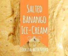 Recipe Salted Banango Ice-Cream - Recipe of category Desserts & sweets