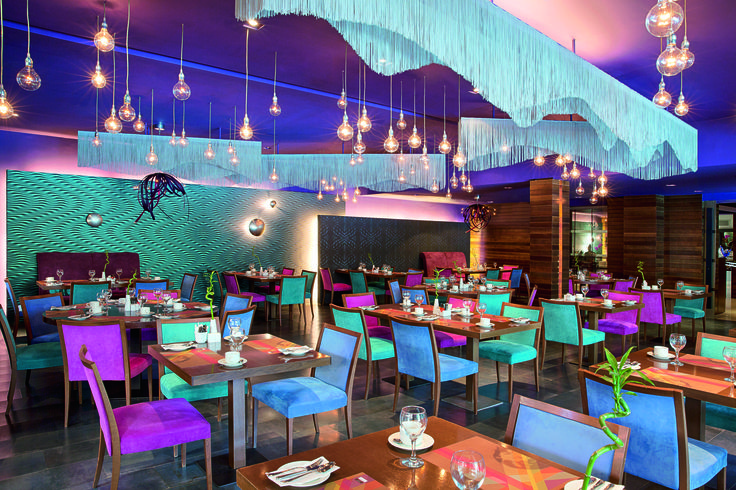 There's nothing more romantic than a dinner date with your loved on at the Art Nouveau Restaurant of Lazart Hotel!