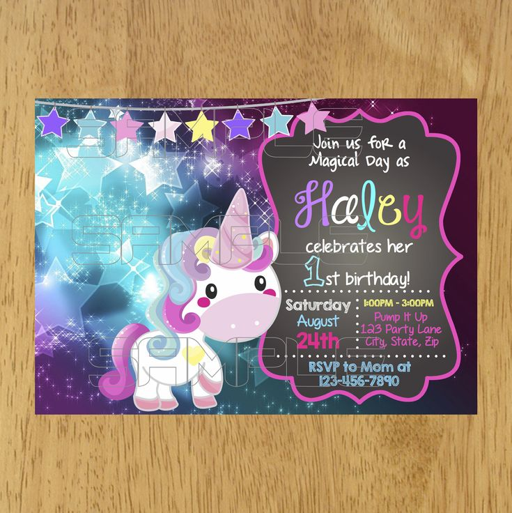 handmadest birthday party invitations%0A Unicorn Invitation  Unicorn Birthday Invitation  Unicorn Party Invitation   Magical Unicorn Party  Cute