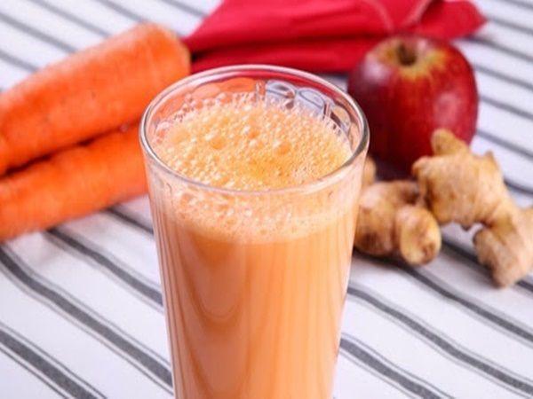 Receita de Vitamina de maçã e cenoura. Enviada por Tudo Gostoso e demora apenas 5 minutos.