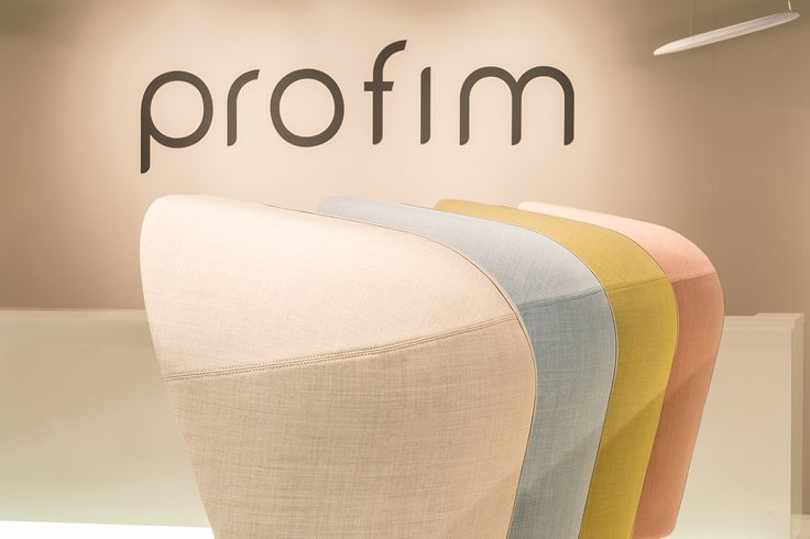#Profim at Orgatec 2014 in Cologne. Collection: Nu. Design: Paul Brooks.