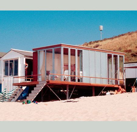 102 best images about beach huts on pinterest chalets beaches and yachts - Container van homes ...
