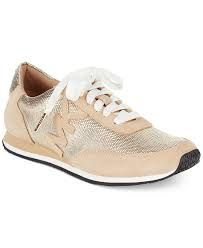 Image result for michael kors gold trainers