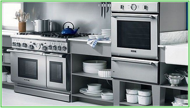 Remarkable Stainless Steel Kitchen Appliances