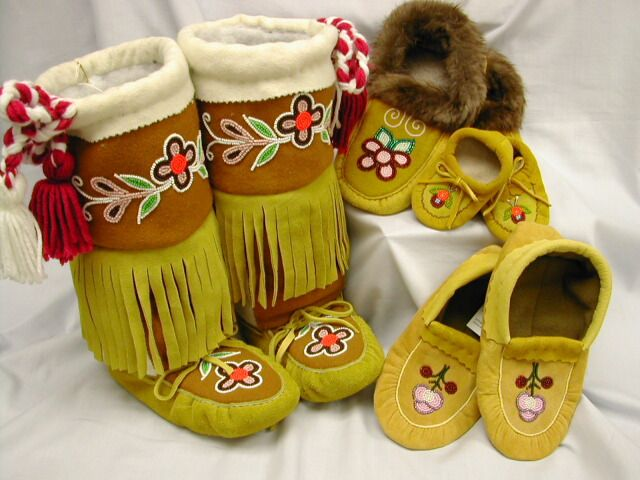 Moccasins, Mitts and Mukluks