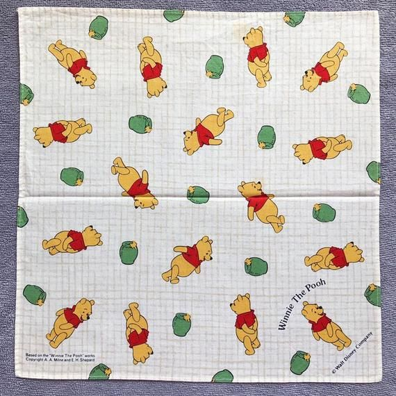 Vintage winnie the pooh handkerchief