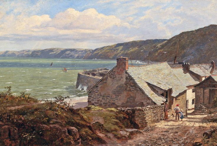 Edward Wilkins Waite - Clovelly - 1881