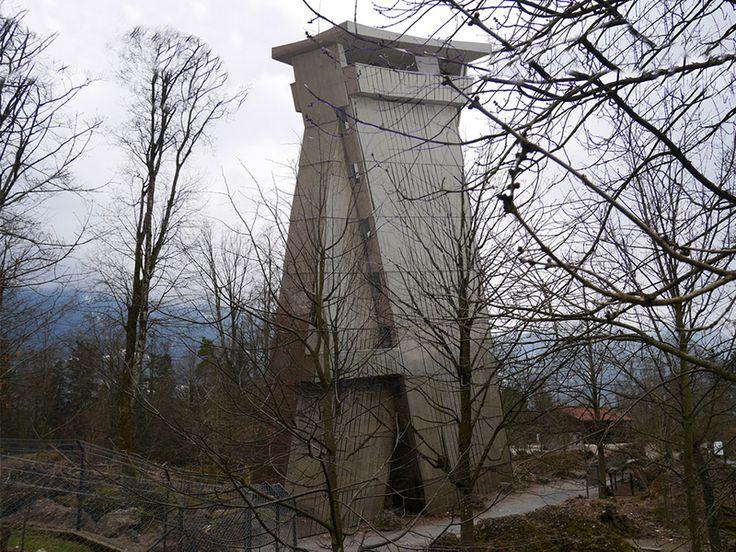 2016 - Aussichtsturm Tierpark Goldau Caminada Architekt