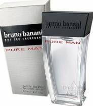 Pure van Bruno Banani is een bloemig en houtig herenparfum met mandarijn, sinaasappel, anijs, grapefruit, cederhout, jasmijn, cyclaam, kardemom, amber, muskus, vetiver, sandelhout en bergamot, benzoë als geurnoten.