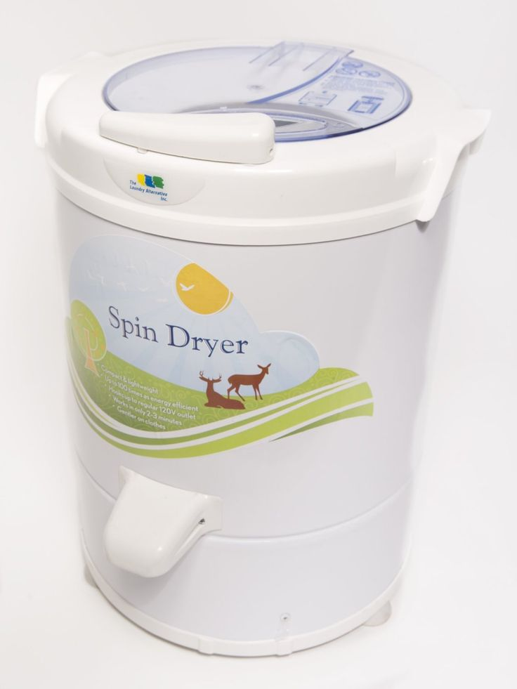 Portable spin dryers are much gentler on clothes than a conventional tumble dryer.  Removes mineral deposits and detergents.  Can be used as a standalone dryer, or with a tumble dryer. Much more #green than a drier!