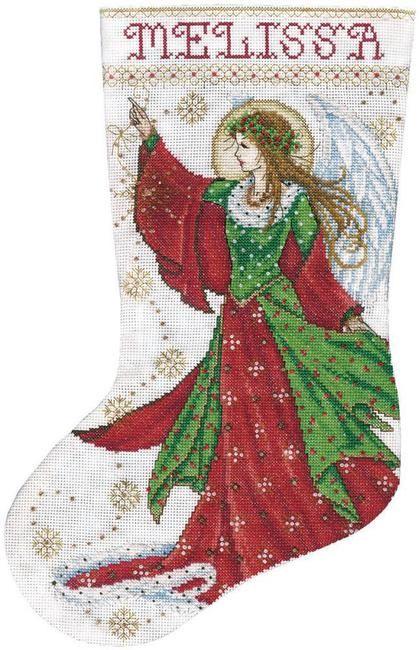 design works felt christmas stocking kits - Cross Stitch Christmas Stocking Kits